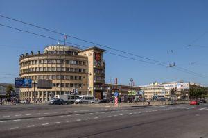 Здание администрации Московского района